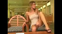 Carli Banks masturbating in shopping mall