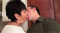 Incesto com a vovó fazendo sexo com o seu neto
