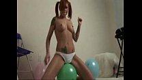 Scarlett Pain Balloon Rubbing