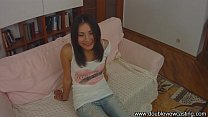 DOUBLEVIEWCASTING.COM - CUTE STASY IS BUSTED HA...
