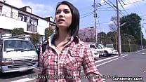 Maria Ozawa receiving a hot creampie