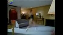 girl in leotard dancing