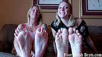 Foot perverts like you need to be punished
