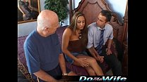 Alisandra Monroe fucks while husband watches
