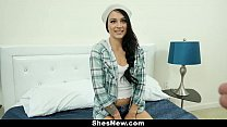 ShesNew - Adorable Amateur Wants To Be A Pornstar
