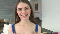 Teens Loves huge Cocks - Teen shows off her Braces
