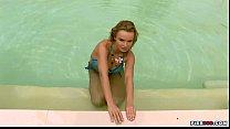 Renata Daninsky aka Peach Pier999 (blue bikini, water, wet tits, glamour) 02f