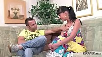 Step-Bro Seduce German Sister to First Fuck with Dick
