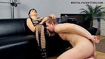 Femdom facesitting bodystocking