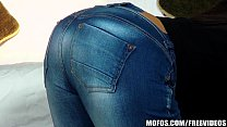 Nothing hotter than a round ass in a pair of tight jeans