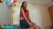 Hazel Allure Slutty Step Daughter Seduces and Sucks Daddy