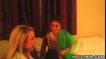 Indian Femdom Abusing A White Slave