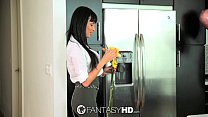 FantasyHD - Guy fucks big breasted hottie Aniss...