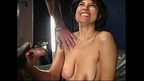 This brunette loves to suck cock