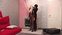hot blonde real flexi doll