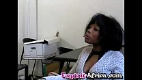 stud younger by hard fucked pussy hairy babe black Milf