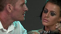 BDSM XXX Big breasted subs get chained up slapp...