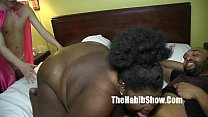 phat chocolate sbbw lady v fucked by bbc redzilla ans skinny jose burns