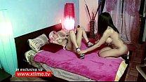 Sara Tommasi e la sua prima scandalosa scena LESBO! TV!
