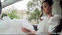Gorgeous rejected bride Amirah Adara savors the strangers massive cock