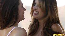 Kiera Winters licking pussy of hot babe Jade Co...