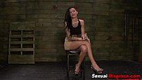 Kinky slut gets gagged
