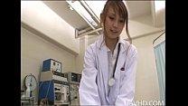 サイト:XVIDEO カテゴリー:フェラ,手コキ 名前:蛯原ありさ タイトル:角質の看護婦蛯原ありさは男性患者に異常な性的検査を行います