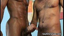 Balck Gay Dude Receive Handjob From White Twink 25