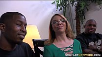 MILF babe Kiki Daire Gets Interviewed at DogFart