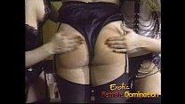 Three lusty latex-clad bitches enjoy pleasuring their orgasmic pink slits