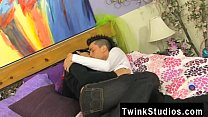 Gay video When bored teenager twinks get together, they play flip the
