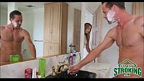 showers mom while bathroom in daughter step Fucking