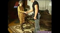 guy young a with sex having Granny