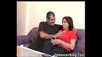 Arab Nani and Cute lady kiss and lick