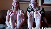 Stroke it for your roommates' sexy feet