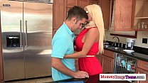 threeway a in teen and milf russian Glamorous