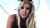 Samantha Saint Masturbates With Milk