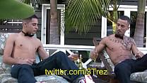 trez-ruthless-nye-2011Bi Latin Men Trez and Ruthless latino men Happy Holidays t