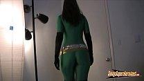 Heroine green spandex