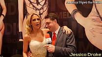 Porn meeting between Jessica Drake and Andrea Diprè