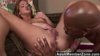 AdultMemberZone - Gabriella Banks Gets A Pussy Full Of Black Cock
