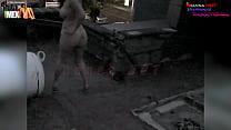 Danna HOT desnuda por las calles de León Guanaj...