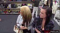 Girls get fucked at shop