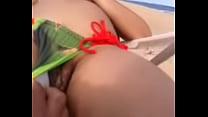 Praia de nudista nudist nudismo em publico