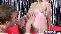 (courtney cummz) Big Oiled Butt Girl Enjoy Deep Anal Hard Sex Act mov-11