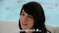 Casting Couch-X High school sweethearts start i...