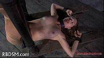 Slave gets depraved drilling