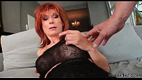 Stunning busty MILF is seduced and fucked - Milf Thing 02