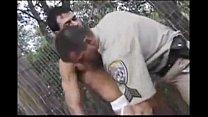 Police officer fucks Jogger