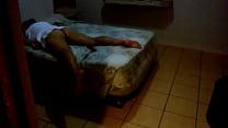 Yesenia descansando despues de cogida